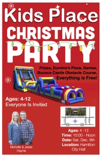 City Wide KIDSPLACE Christmas Party