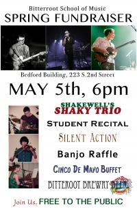 Bitterroot School Of Music Spring Fundraiser