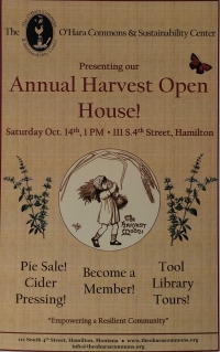 O'Hara Commons Harvest Open House & Pie Sale