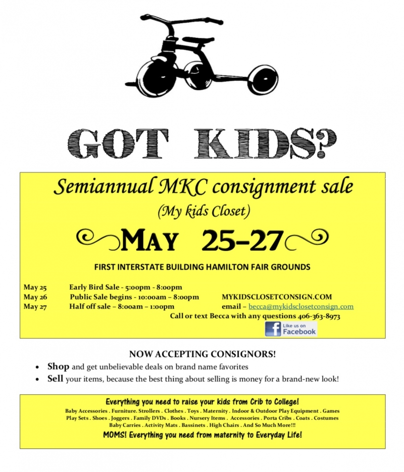 Semiannual My Kids Closet Consignment Sale