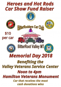 Heroes and Hot Rods Car Show & Fundraiser
