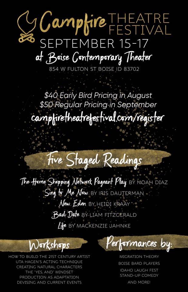 Campfire Theatre Festival 09 15 2017 Boise Idaho