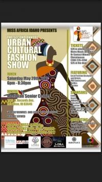2nd Anual Urban Cultural Fashion Show