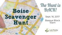 Boise Scavenger Hunt