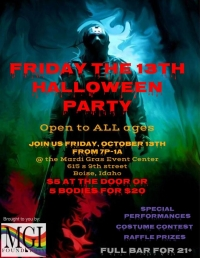 Friday the 13th Halloween Party