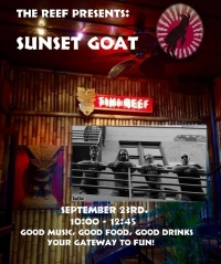 Sunset Goat Party at The Reef!