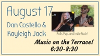Music on the Terrace- Dan Costello and Kayleigh Jack