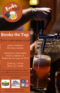 Books on Tap Book Club at Prefunk Beer Bar- Nampa