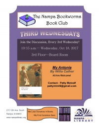 The Nampa Bookworms Book Club
