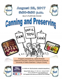 Canning and Preserving- Can Until You Can't!