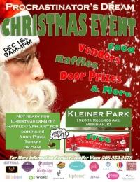Procrastinator's Dream Christmas Event at Kleiner Park