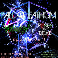 FALL OF FATHOM   ROSES ARE DEAD   SPORTSCOURT   ATHERAS