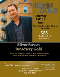 Kevin Cole Concert:  Silver Screen Broadway Gold