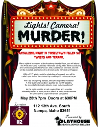 Lights, Camera, Murder! Encore Performance