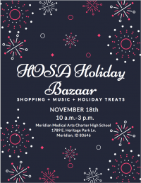 Meridian Medical Arts Charter High School HOSA Bazaar