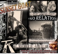 Sunset Goat band at TKBar! w/ No Relations Band