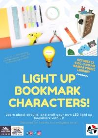 Tweens: Light Up Bookmark Characters!