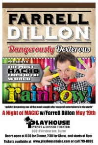 Farrell Dillion International Magician and comedian