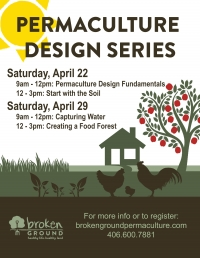 Permaculture Design Series - Session 3 and 4