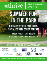Thrive's Summer Fun in the Park