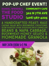 Guest Chef Night at the Community Cafe