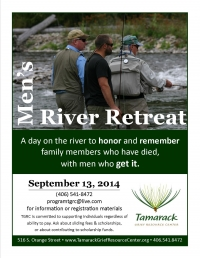 Men's River Retreat