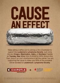 Eat a Burrito, Support Leukemia & Lymphoma Society