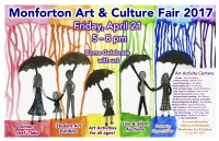 Monforton Art and Culture Fair