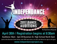 IndepenDANCE Auditions