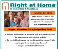 Caregiving without Guilt - Free Support Workshop