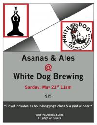 Asanas & Ales At White Dog Brewing