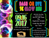 Dash or Dye 5k Glow Run