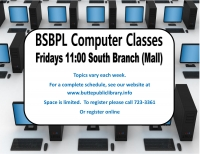 Computer Classes: Computer Basics