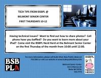 Tech Tips BSBPL@The Belmont