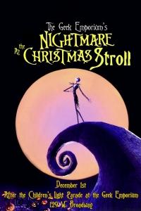 Jack Skellington at the Christmas Stroll