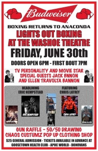 Lights Out Boxing At the Washoe Theatre