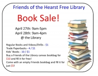 Book Sale at the Hearst Free Library