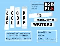 The Recipe Writers: BSBPL Cookbook Club