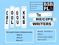 The Recipes Writers: BSBPL Cookbook club