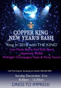 New Year's at the King