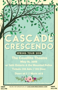 Cascade Crescendo at The Covellite Theatre