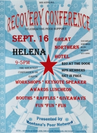 Montana's Peer Network Recovery Conference