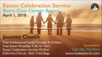 Butte Community Easter Celebration Service
