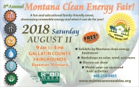 Montana Clean Energy Fair - Free & Family friendly!