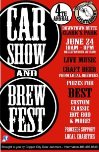 Copper City Gear Jammer's Car Show and Brew Fest