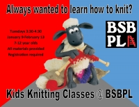 Kids Knitting Classes @BSBPL