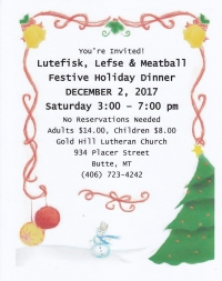 Gold Hill's Annual Holiday Dinner