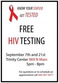 Free HIV Testing!