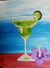 Margarita Paint Party