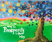 Paint Party  Prosperity Tree